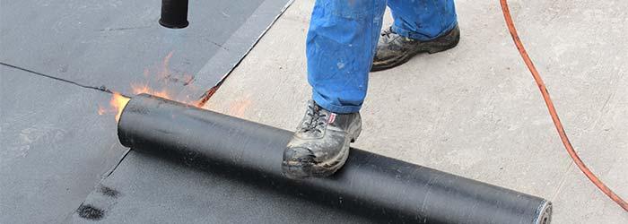 bitumen dakbedekking Leiden