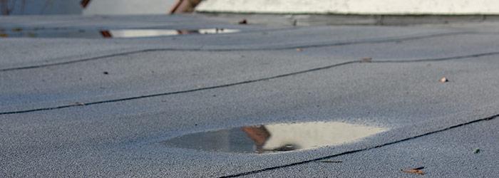 oorzaken plat dak lekkage